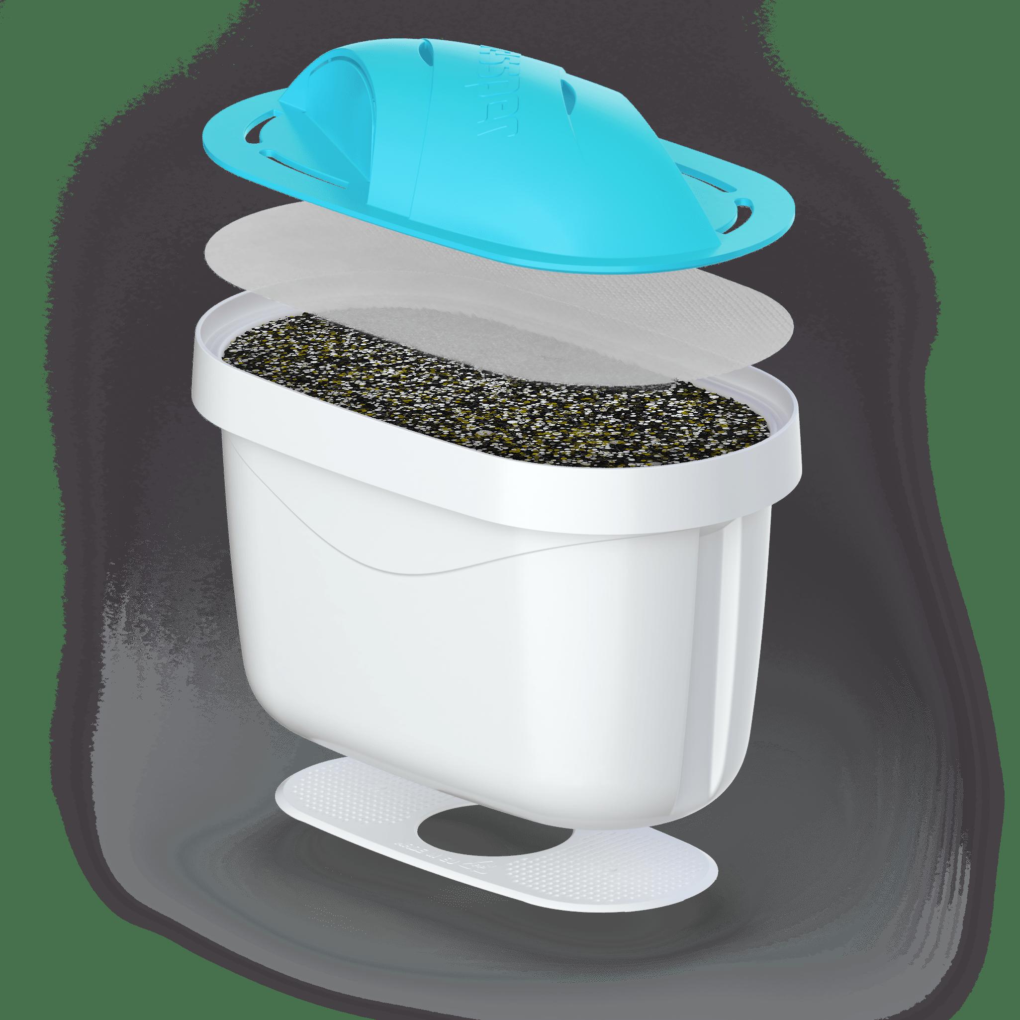 Alkalisches Wasser 4 Filter für Brita Maxtra AQUAMAX Alkaline Wasserfilter
