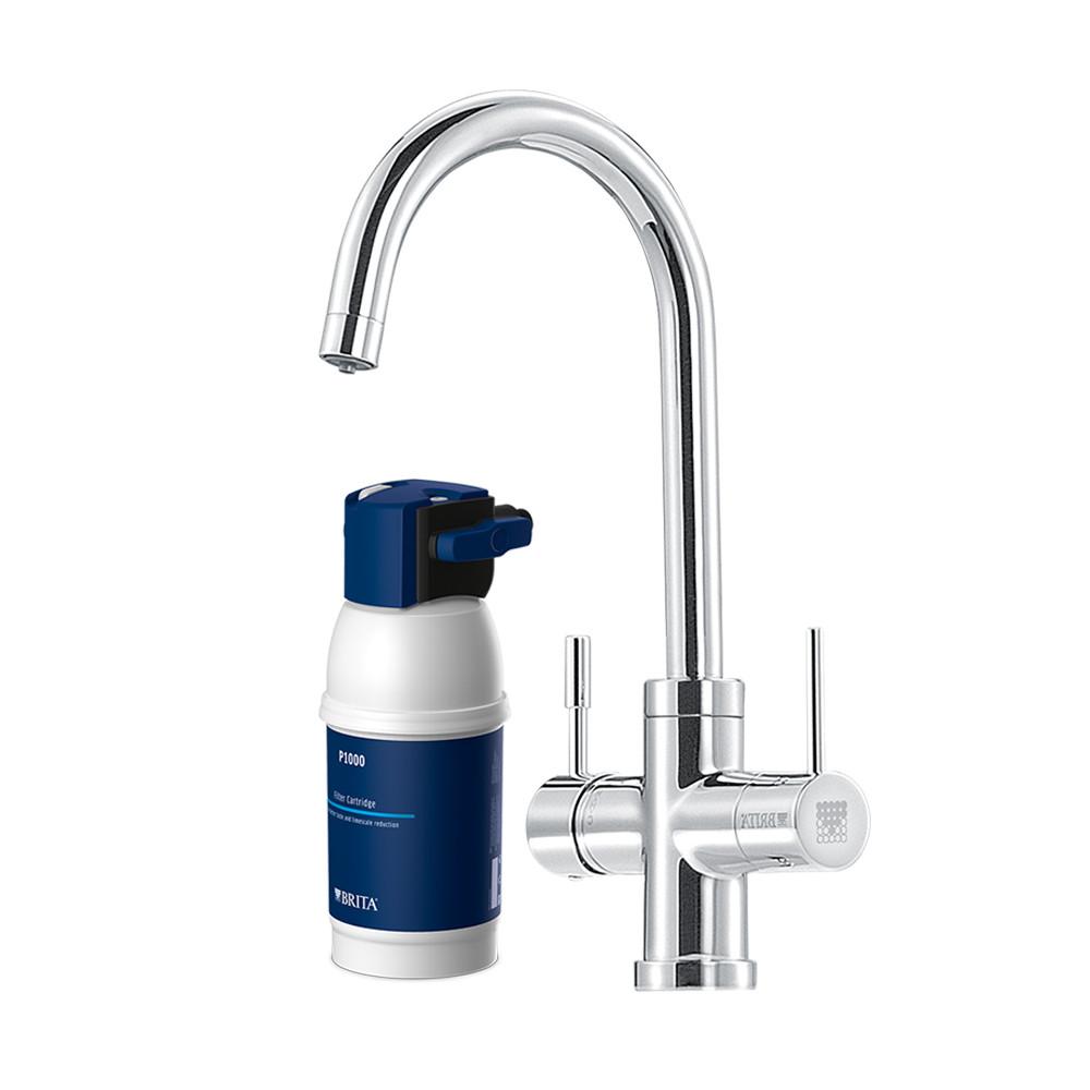 BRITA Armatur mit integriertem Wasserfilter WD 3030 3-Wege ...